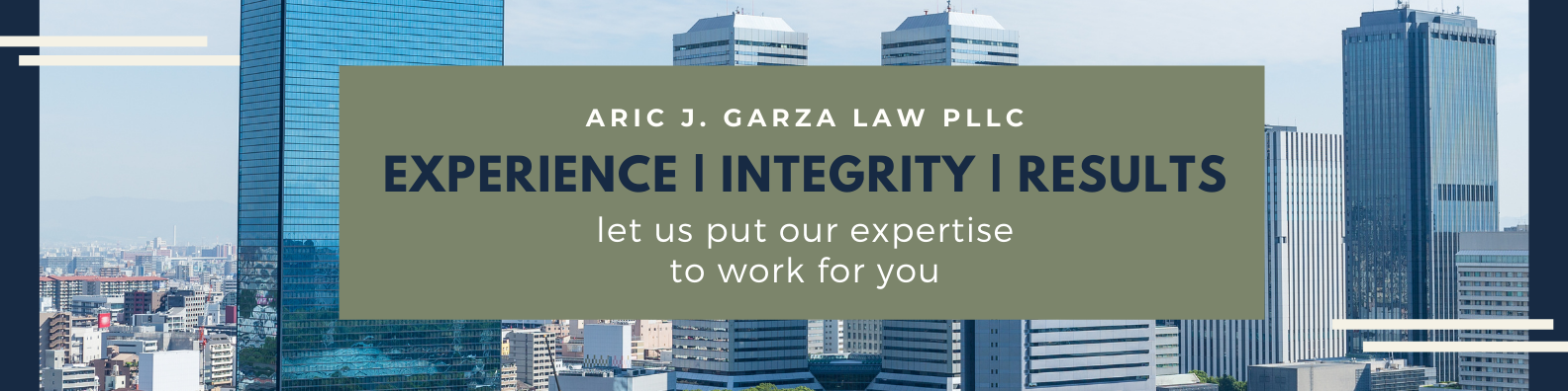 Aric J. Garza Law PLLC